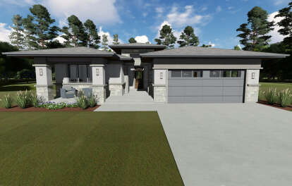 3 Bed, 2 Bath, 2385 Square Foot House Plan - #425-00032