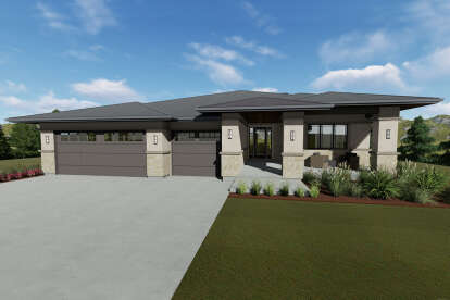 3 Bed, 2 Bath, 2539 Square Foot House Plan - #425-00033