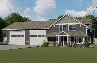 1 Bed, 1 Bath, 2369 Square Foot House Plan - #5032-00005