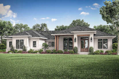 3 Bed, 2 Bath, 2330 Square Foot House Plan #041-00212