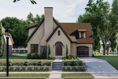 3 Bed, 2 Bath, 2031 Square Foot House Plan #963-00397