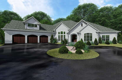 3 Bed, 3 Bath, 3982 Square Foot House Plan - #8318-00138