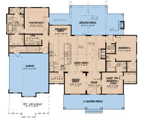 Main Floor for House Plan #8318-00142
