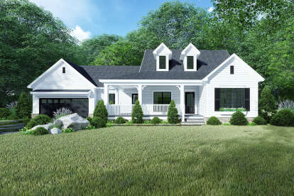 3 Bed, 2 Bath, 1813 Square Foot House Plan #8318-00144