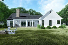 Country House Plan #8318-00144 Elevation Photo