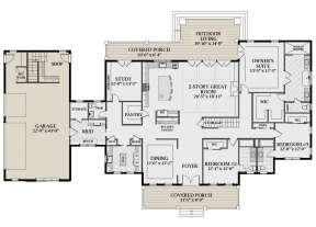 Main Floor for House Plan #6849-00092