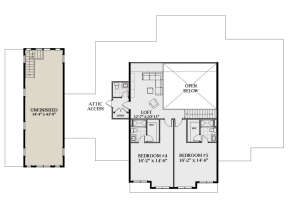 Second Floor for House Plan #6849-00092