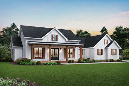 3 Bed, 2 Bath, 2460 Square Foot House Plan #2559-00839