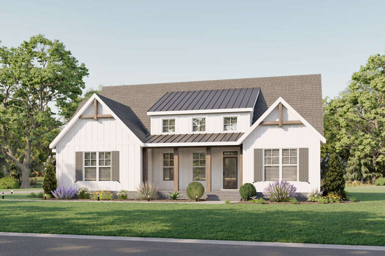 House Plan Elevation Photo