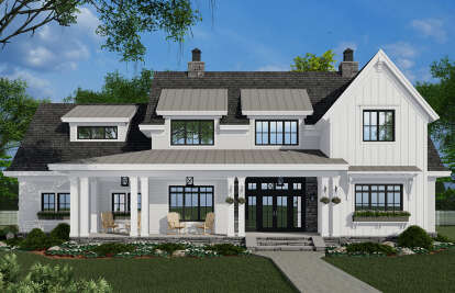 4 Bed, 3 Bath, 2862 Square Foot House Plan #098-00322