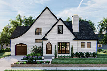 3 Bed, 2 Bath, 1962 Square Foot House Plan #963-00407