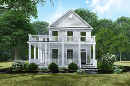 3 Bed, 3 Bath, 1872 Square Foot House Plan #8318-00148
