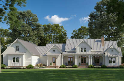 4 Bed, 3 Bath, 3095 Square Foot House Plan #4534-00022