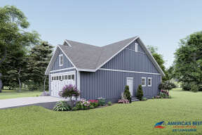 Country House Plan #041-00218 Elevation Photo