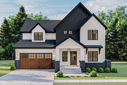 3 Bed, 2 Bath, 2919 Square Foot House Plan - #963-00413