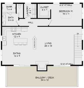 Main Floor for House Plan #940-00231