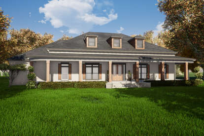 3 Bed, 3 Bath, 4139 Square Foot House Plan - #8318-00153