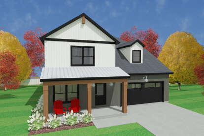 3 Bed, 2 Bath, 2003 Square Foot House Plan #1462-00010