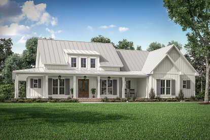 3 Bed, 2 Bath, 2395 Square Foot House Plan #041-00223