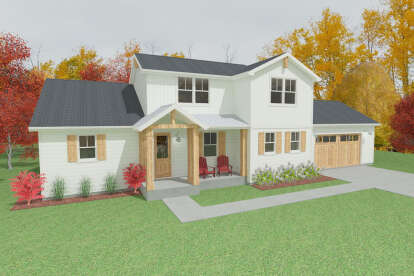3 Bed, 2 Bath, 2292 Square Foot House Plan #1462-00019