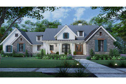 3 Bed, 2 Bath, 1742 Square Foot House Plan #9401-00109