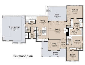 Main Floor for House Plan #9401-00109