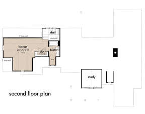 Bonus Room for House Plan #9401-00109