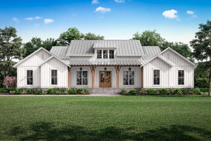 3 Bed, 2 Bath, 2589 Square Foot House Plan #041-00224