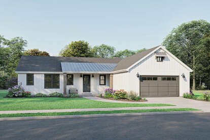 3 Bed, 2 Bath, 2486 Square Foot House Plan #1462-00023