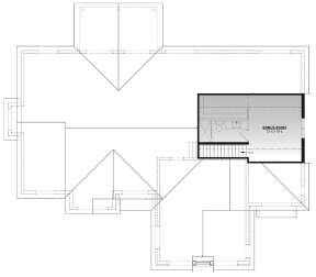 Bonus Room for House Plan #034-01249