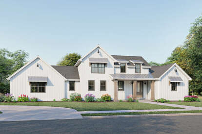 3 Bed, 2 Bath, 2446 Square Foot House Plan #1462-00026