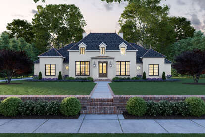 4 Bed, 3 Bath, 3170 Square Foot House Plan #4534-00030