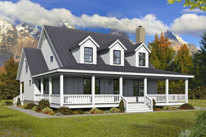 3 Bed, 3 Bath, 2718 Square Foot House Plan - #940-00237