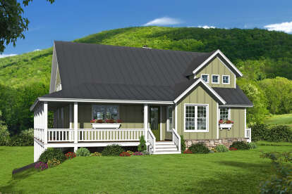 3 Bed, 3 Bath, 2438 Square Foot House Plan - #940-00243