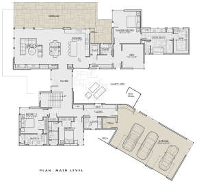 Main Floor for House Plan #5829-00031