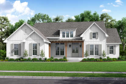 4 Bed, 2 Bath, 2847 Square Foot House Plan - #041-00226