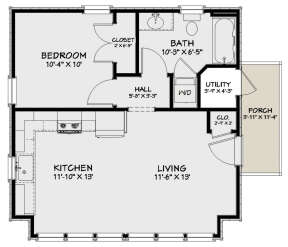 Main Floor for House Plan #1502-00007