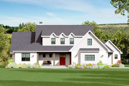4 Bed, 3 Bath, 3246 Square Foot House Plan #3125-00028