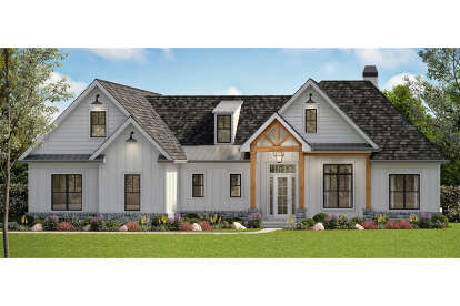 4 Bed, 3 Bath, 2880 Square Foot House Plan - #699-00270