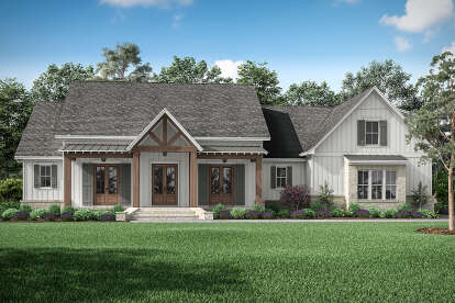 3 Bed, 3 Bath, 2843 Square Foot House Plan - #041-00228