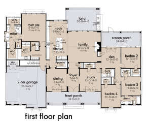 Main Floor for House Plan #9401-00111