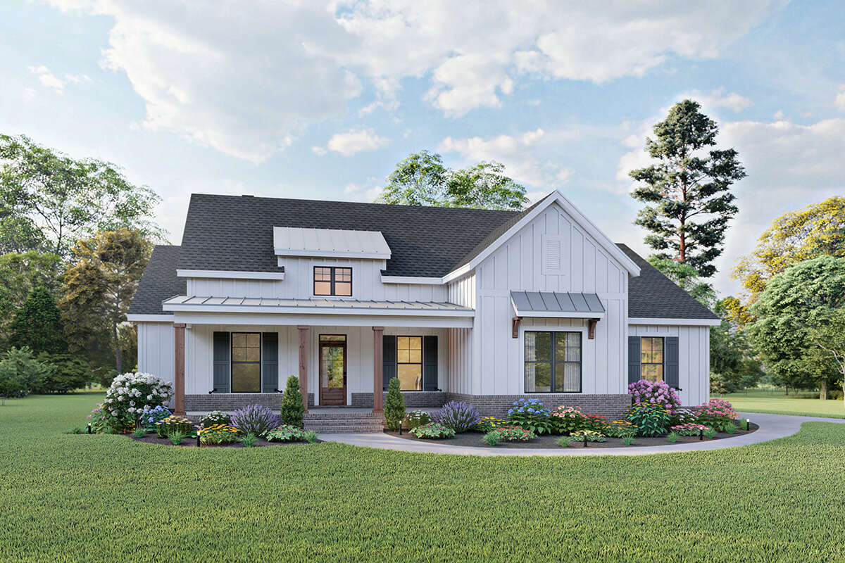 House Plan 10-10 - Modern Farmhouse Plan: 10,10 Square Feet, 10-10  Bedrooms, 10 Bathrooms