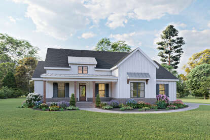 3 Bed, 2 Bath, 2103 Square Foot House Plan #009-00293