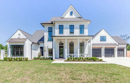 4 Bed, 5 Bath, 4443 Square Foot House Plan #7516-00052
