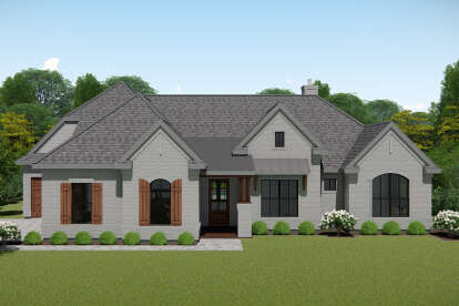 4 Bed, 3 Bath, 3016 Square Foot House Plan - #3571-00010