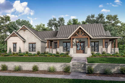 3 Bed, 2 Bath, 2454 Square Foot House Plan #041-00230