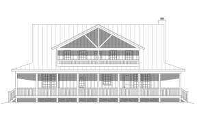 Country House Plan #940-00248 Elevation Photo