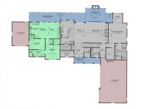 Main Floor w/In-Law Suite for House Plan #286-00110