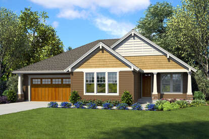 3 Bed, 2 Bath, 2137 Square Foot House Plan #2559-00853