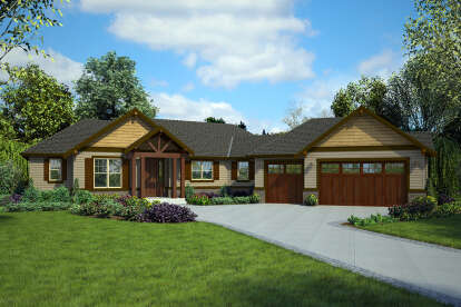 3 Bed, 2 Bath, 1953 Square Foot House Plan #2559-00859